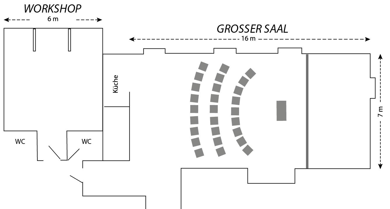fortepiano Studio Präsentations-Szene